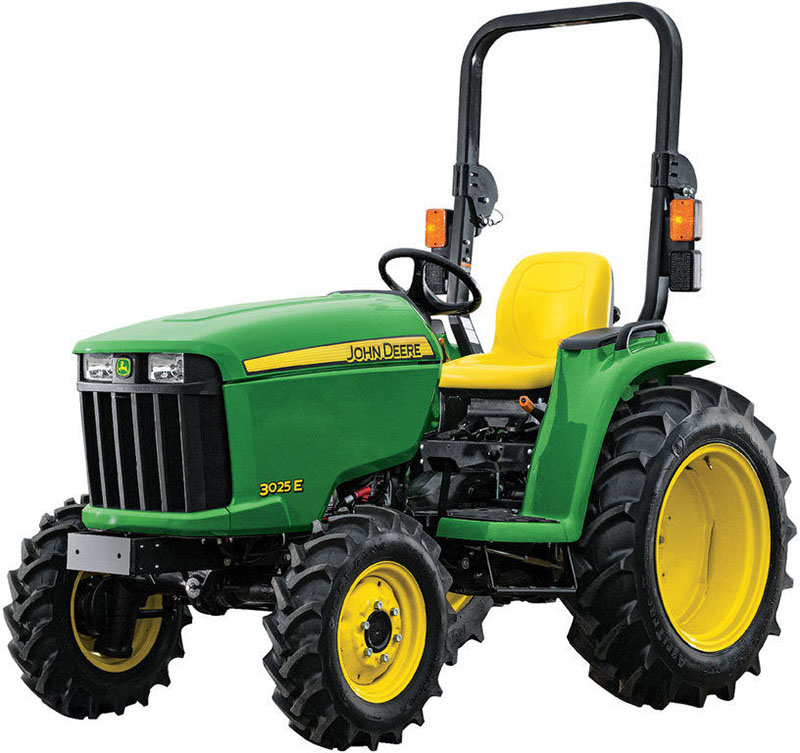 John Deere  3025E Price Specs Reviews