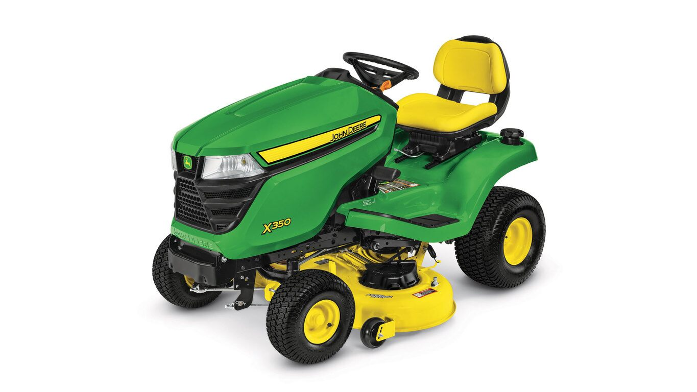 John Deere X350 Price Reviews Specs