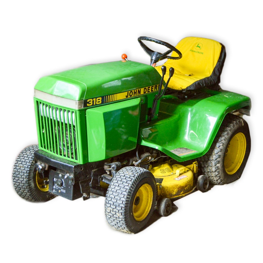 John Deere 318 Tractor Price Specifications