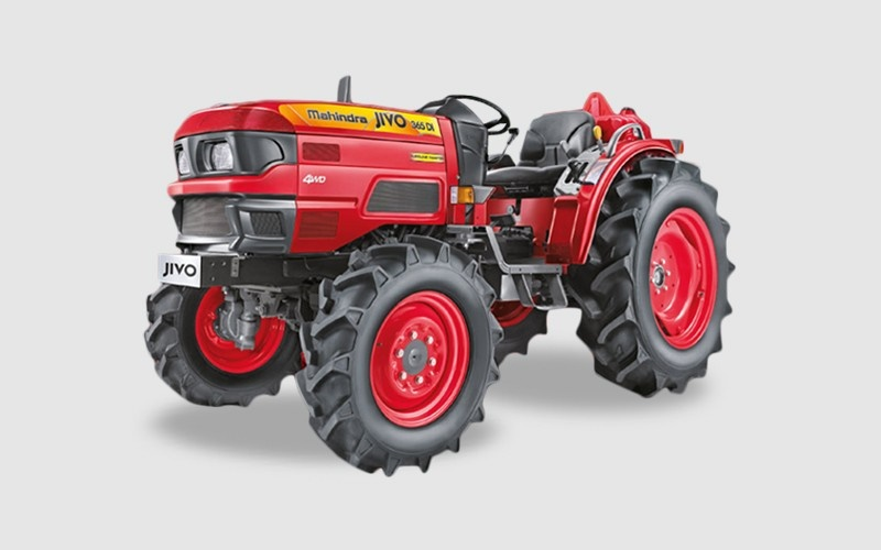 Mahindra Jivo 365 DI 4WD Mini Tractor Price Specifications Review