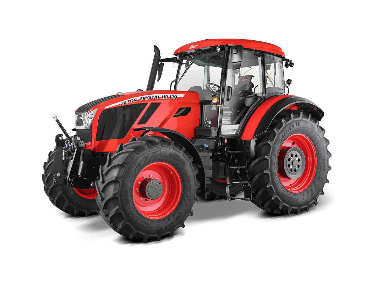 Zetor Crystal HD 170 Price Specs Features