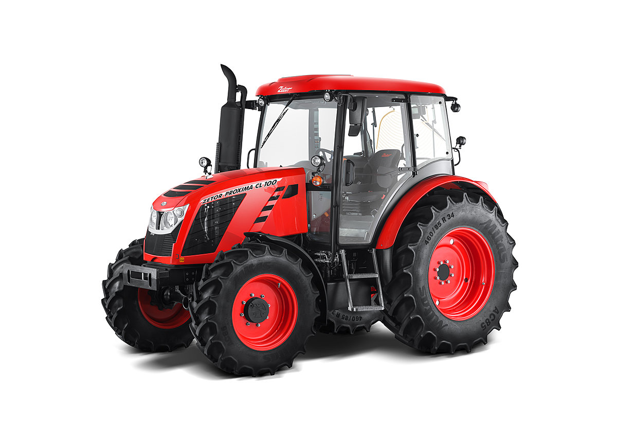 Zetor Proxima CL 100 Price Specs Features