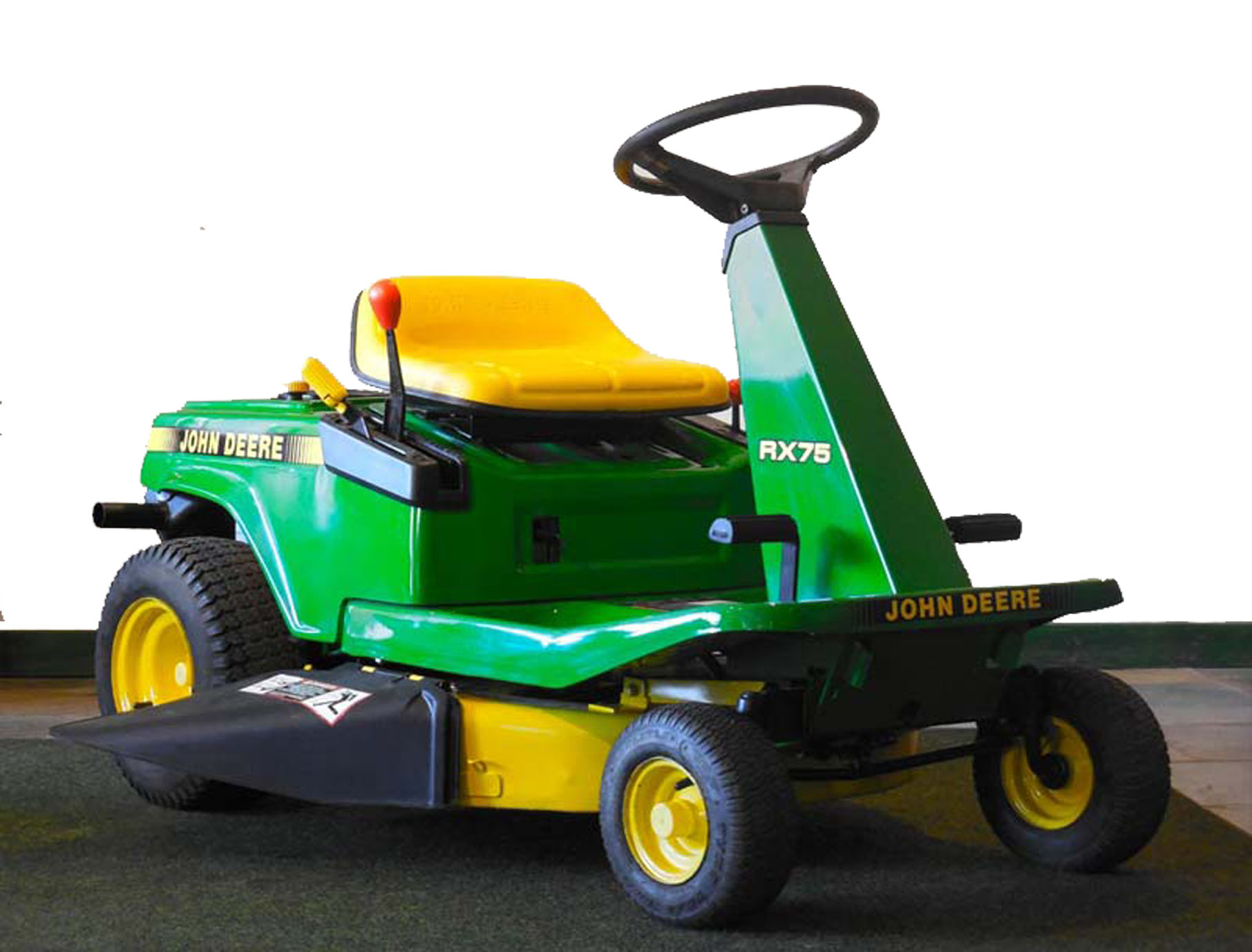 John Deere RX75 Riding Mower Price Specs