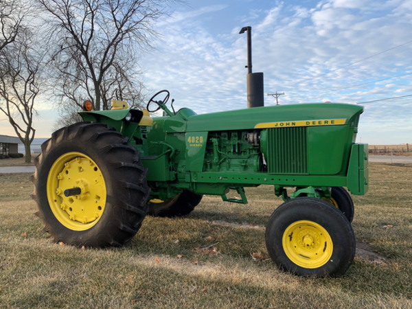John-Deere-4020 price usa