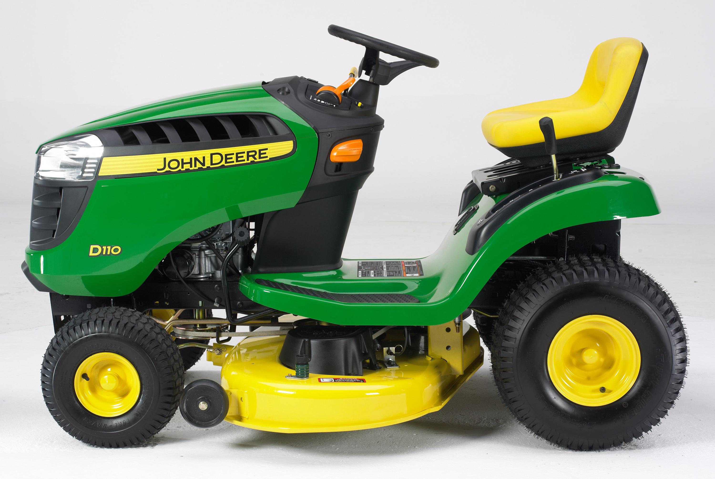 John Deere D110 price specs.