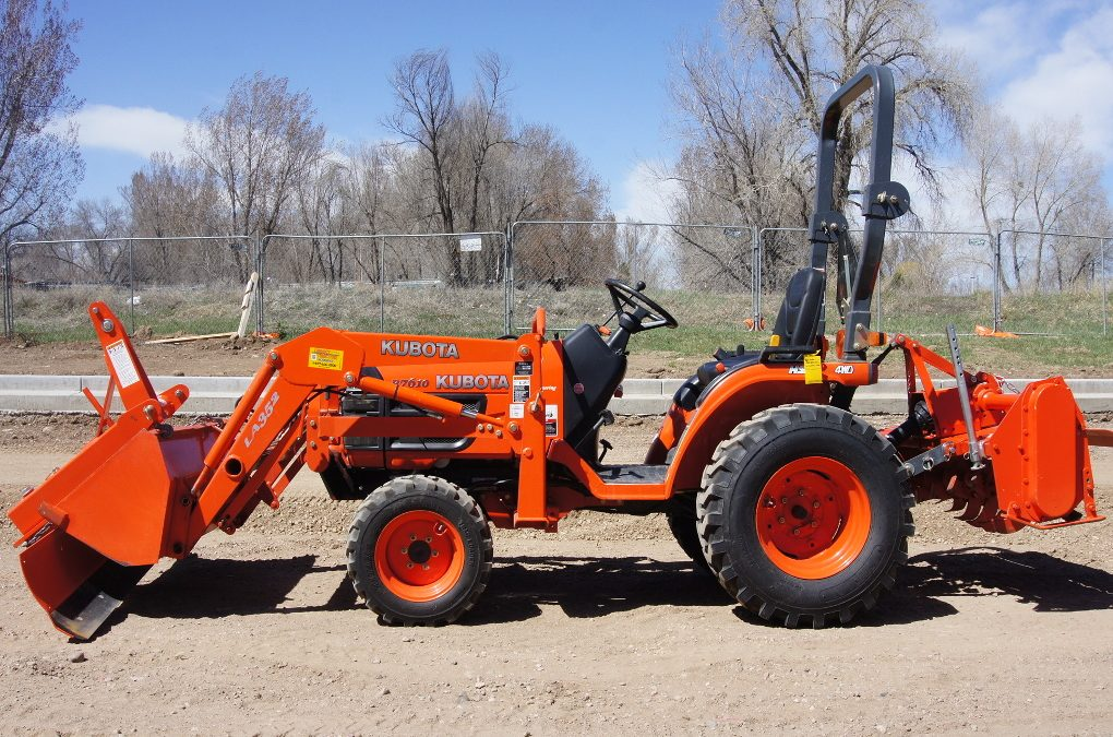 Kubota B7610 specifications.
