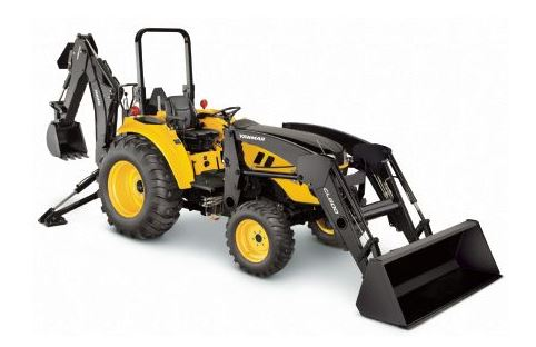 Yanmar LX4100 Open Platform Tractor with ROPS Price