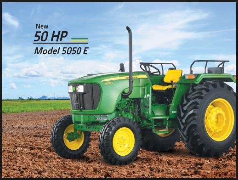 john deere 5050e tractor price in India